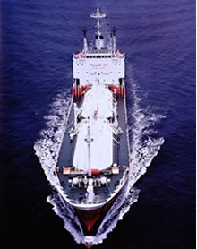 LPGの海上輸送を始める